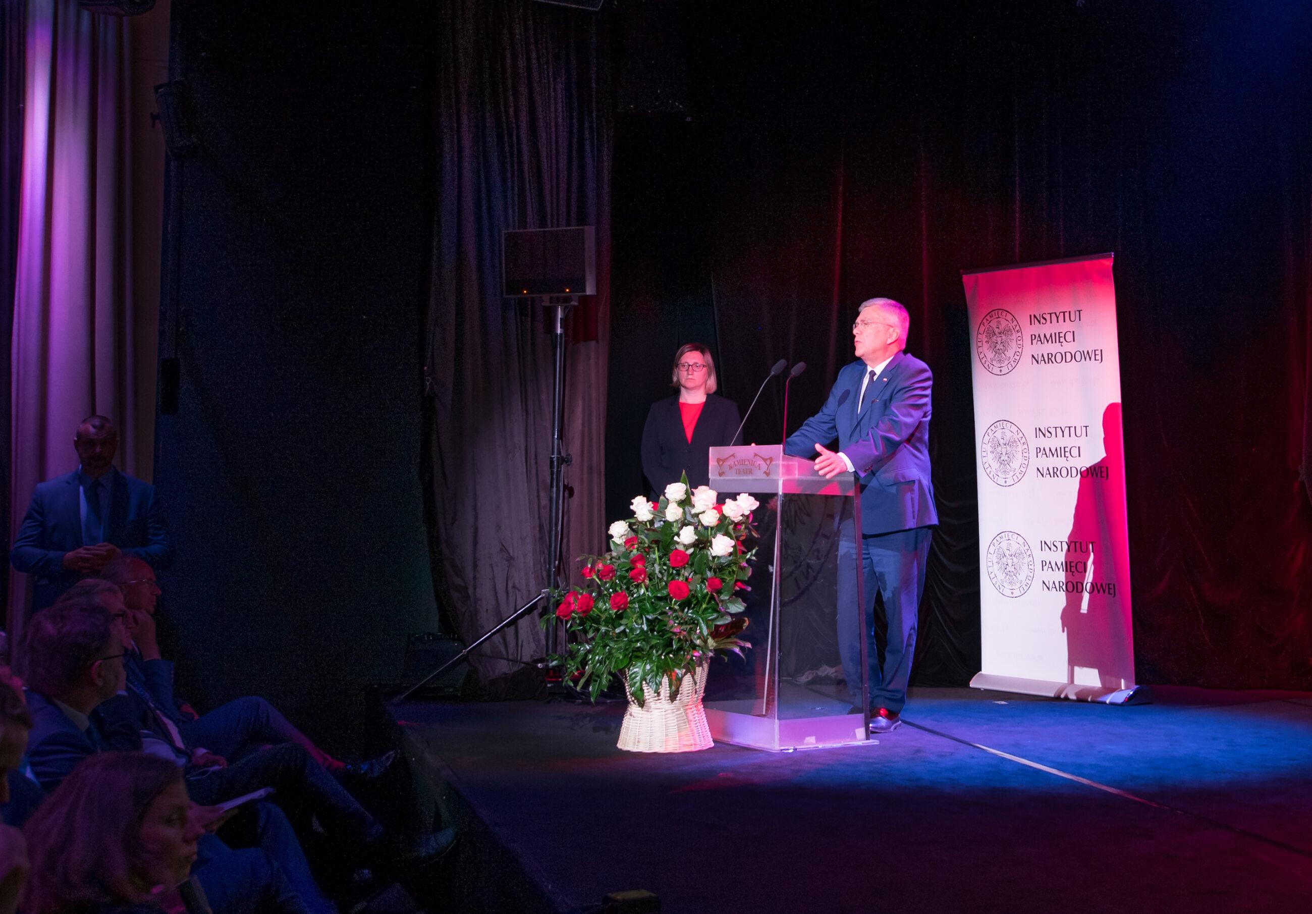 Uroczystość wręczenia odznaczeń państwowych działaczom opozycji antykomunistycznej z lat 1956–1989.